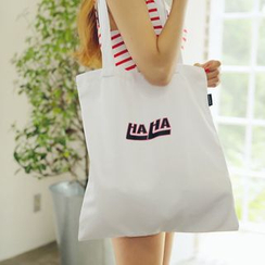 Eastin - Lettering Shopper Bag