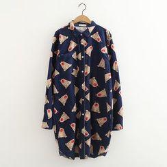 MAOMAO - Printed Long Shirt