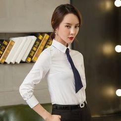 艾尚臣 - 長袖襯衫