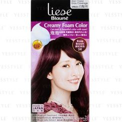 Kao - Liese Blaune Creamy Foam Color (Rose Brown)