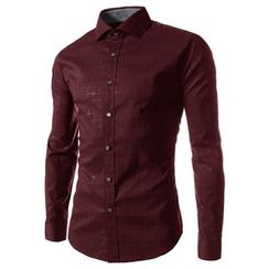 Hansel - Checked Long Sleeve Shirt