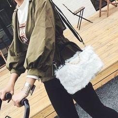 薇薇 - 毛毛边单肩包
