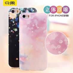 RERIS - 渐变色手机保护套 - 苹果 iphone 5 / 5s