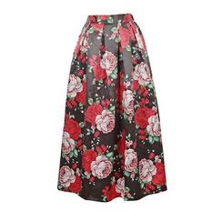 Flore - Floral Long Skirt