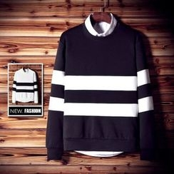 RIVOLO - Striped Pullover