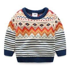 Seashells Kids - Kids Patterned Sweater