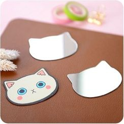 Good Living - Cat Pattern Portable Mirror