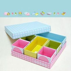 OH.LEELY - Set of 8: Desktop Organizer