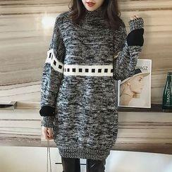 Little V - Melange Sweater Dress