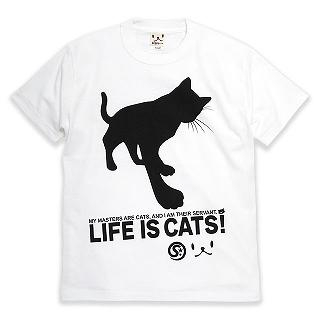 SCOPY - [Unisex] Short-Sleeve Print T-Shirt - CAT'S SERVANT