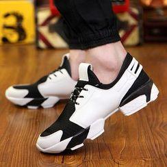 Gerbulan - Two Tone Sneakers