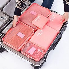 Roseate - Set of 6: Travel Packing Cubes