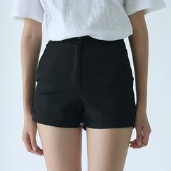 Sens Collection - Contrast Trim High Waist Shorts