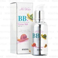 Ms. Violet - BB Snail Blemish Balm Primer 968 SPF 45+++ (Silky Beige)