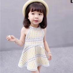 PAM - Kids Sleeveless Patterned Dress