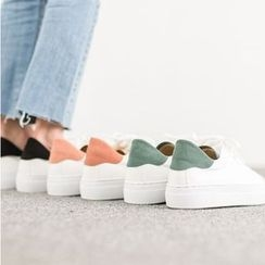 VIVIER - Faux-Suede Lace-Up Sneakers