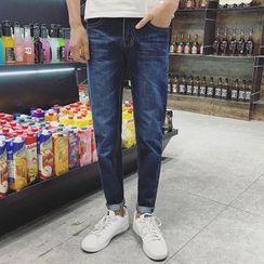 Alvicio - Straight Cut Jeans