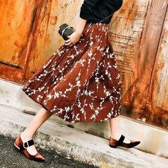 Jack Grace - Floral A-Line Skirt