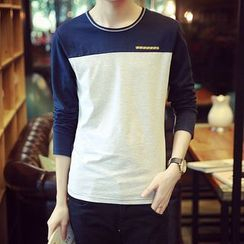 JVR - Long-Sleeve Panel T-Shirt