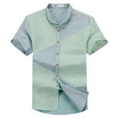 Lutai - Striped Casual Shirt