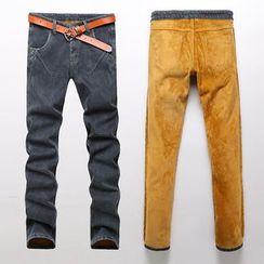 Harvin - Fleece Lined Skinny Jeans