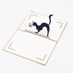 ByHeart - Cat & Mouse 3D Greeting Card