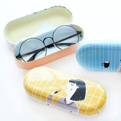 YouBuy - Cartoon Print Glasses Case
