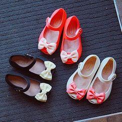 BOOM Kids - 儿童蝴蝶结平跟鞋