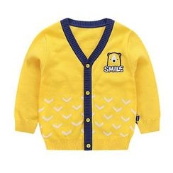 Ansel's - Kids Embroidered Cardigan