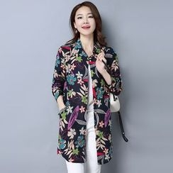 One2One - Floral Long Shirt