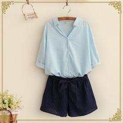 布衣天使 - 中袖襯衫