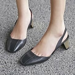 JY Shoes - Genuine Leather Pumps