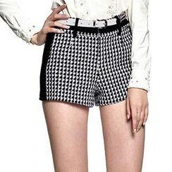 O.SA - Houndstooth Shorts