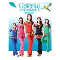 AUM - 舞蹈套裝: 上衣 + 長褲