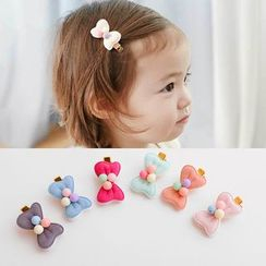 Chapa - Kids Bow-Accent Hair Clip