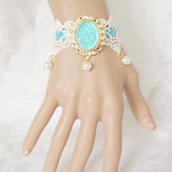 Fit-to-Kill - Lace Bride Crystal Bracelet