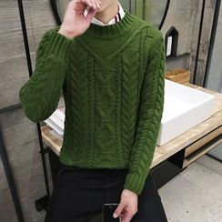 Breeson - Cable-Knit Sweater