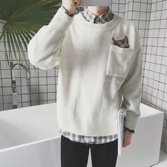 qiaqiayes - Embroidered Sweater