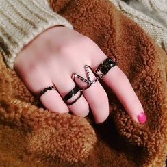 Ticoo - Metal Ring Set