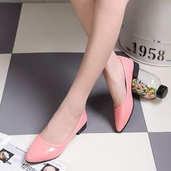 Simply Walk - Pointed Two-tone Pumps