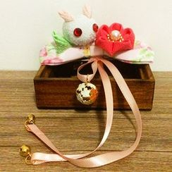 HelloDear - Rabbit Bow Dangling Hair Clip