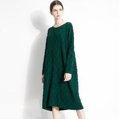 Halona - Jacquard Knit Dress