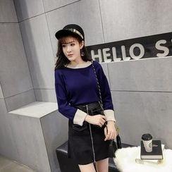 RUI - Color Block Sweater