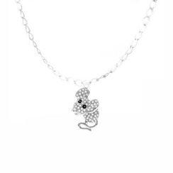 Glamagem - 12生肖动物吊饰 - 精巧鼠 - 连手链