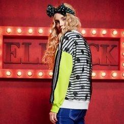 ELF SACK - Striped Pullover
