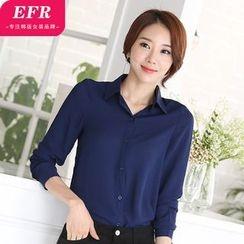 Eferu - 雪紡襯衫
