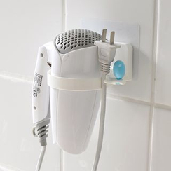 Lazy Corner - Suction Hair Drier Holder
