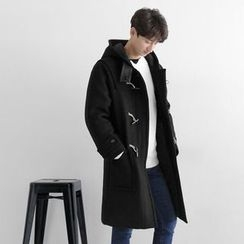 Seoul Homme - Hooded Duffle Coat