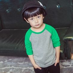 Lemony dudu - Kids Raglan Long-Sleeve T-Shirt