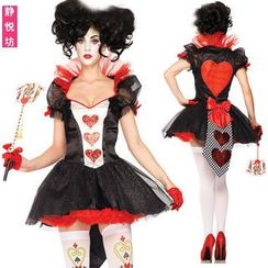 Cosgirl - Queen of Hearts Party Costume